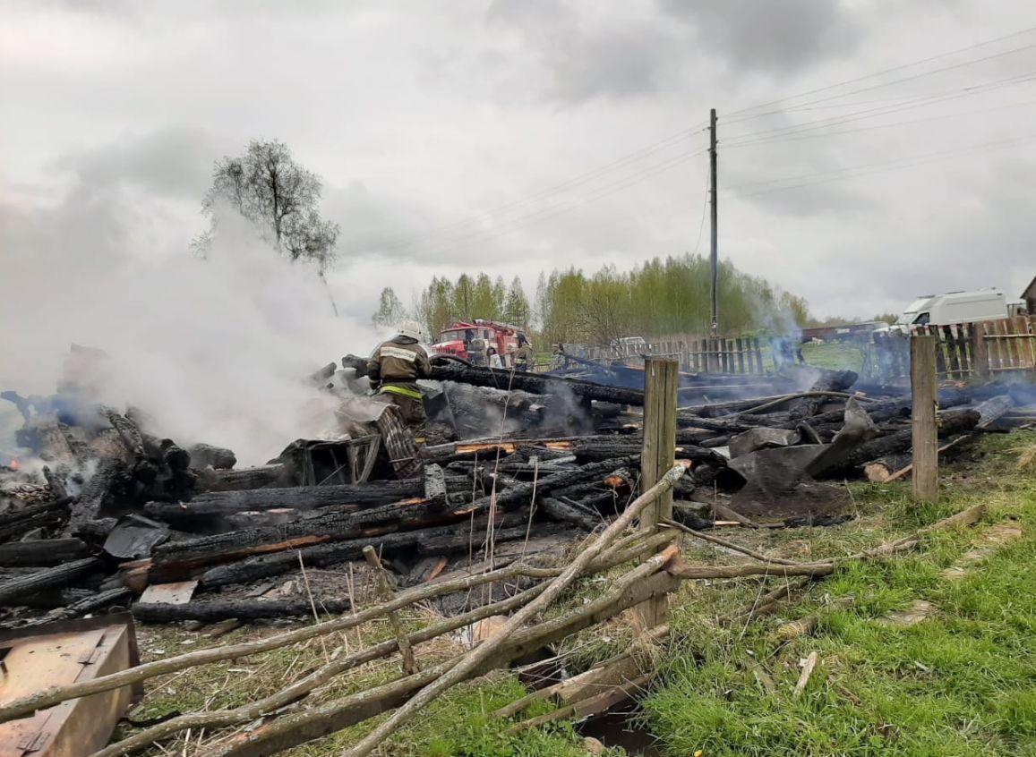 В Ярославской области в пожаре погибли трое детей и один взрослый