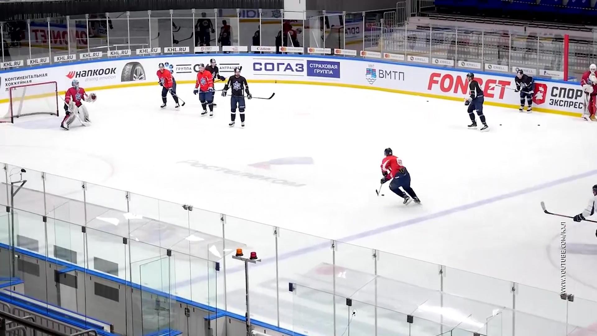 Вратарь Антон Красоткин обменян в новосибирскую «Сибирь»