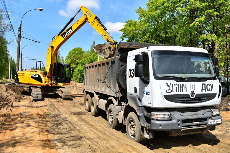 В Ярославле приступили к третьему этапу ремонта Тутаевского шоссе