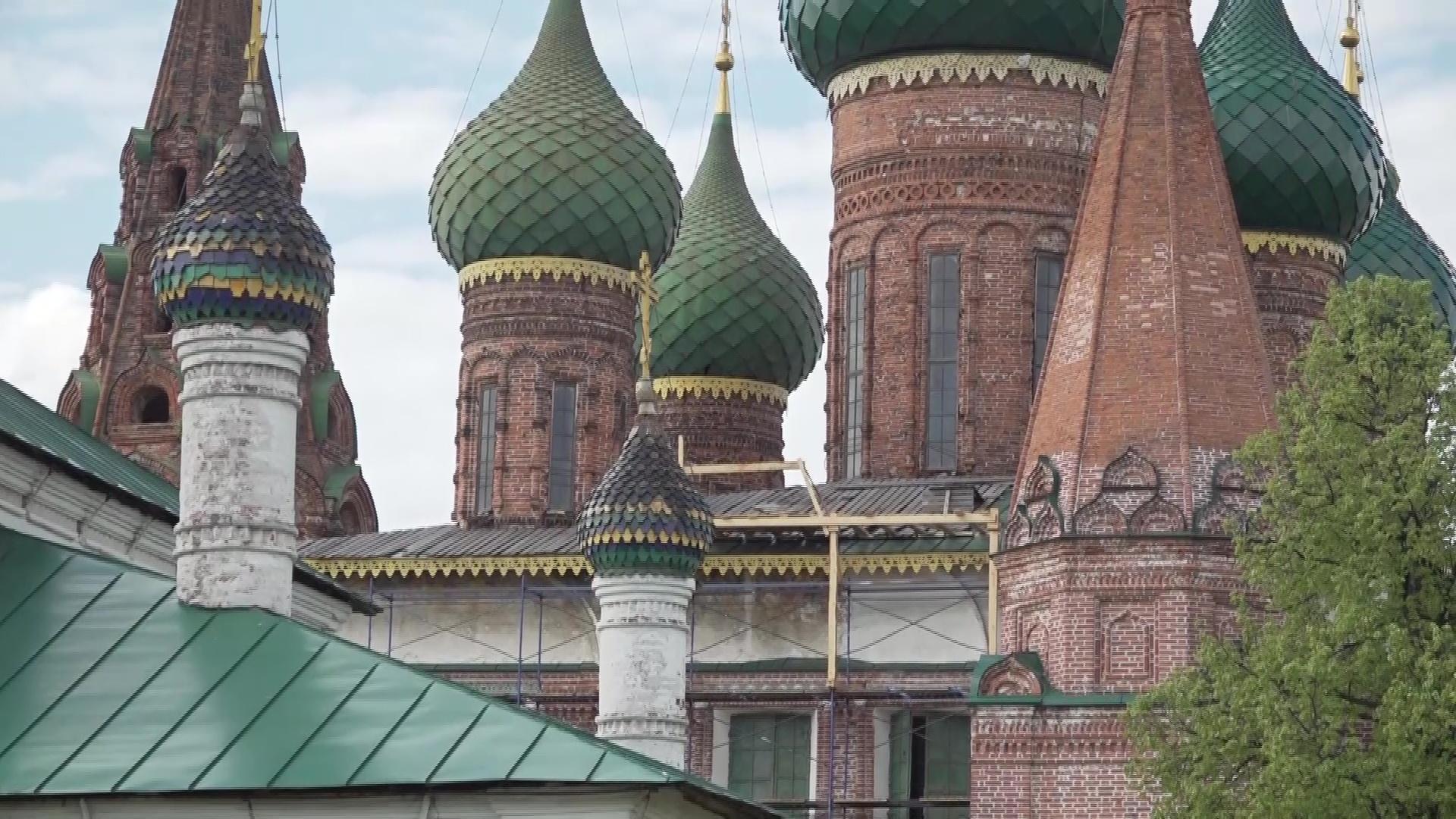 Специалисты приступили к исследованию церкви Николы Мокрого в Ярославле