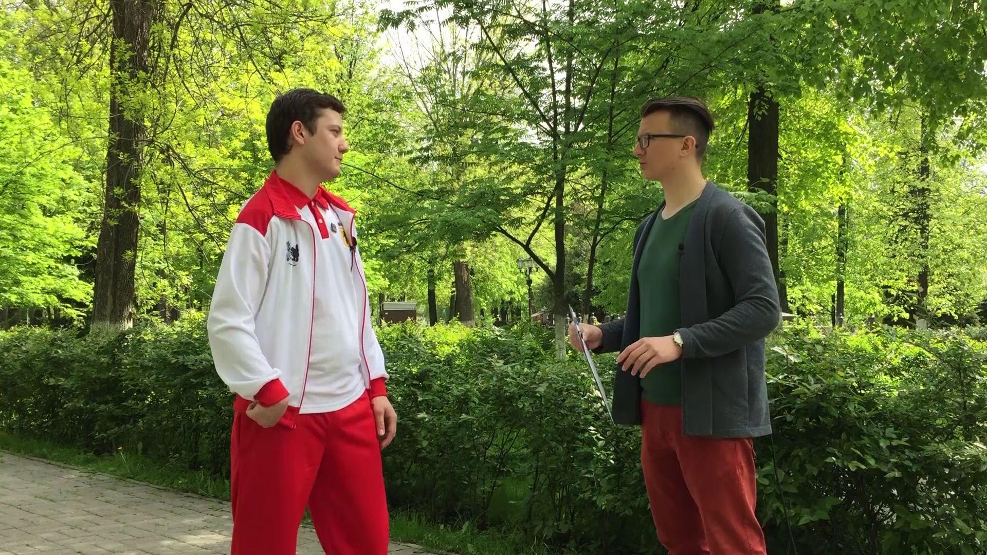Программа «Я+спорт» от 28.05.20: Интервью с мастером спорта России по настольному теннису Никитой Стуловым