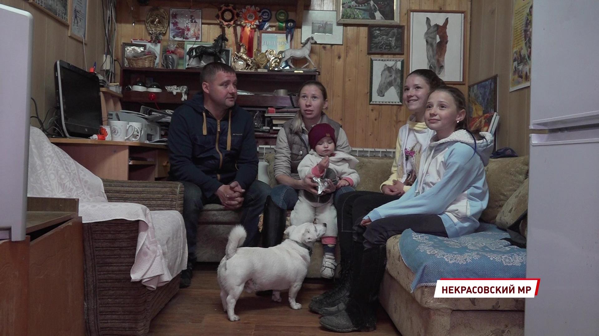 Семья Куликовых из Некрасовского района получила приз на региональном конкурсе «Семья года»