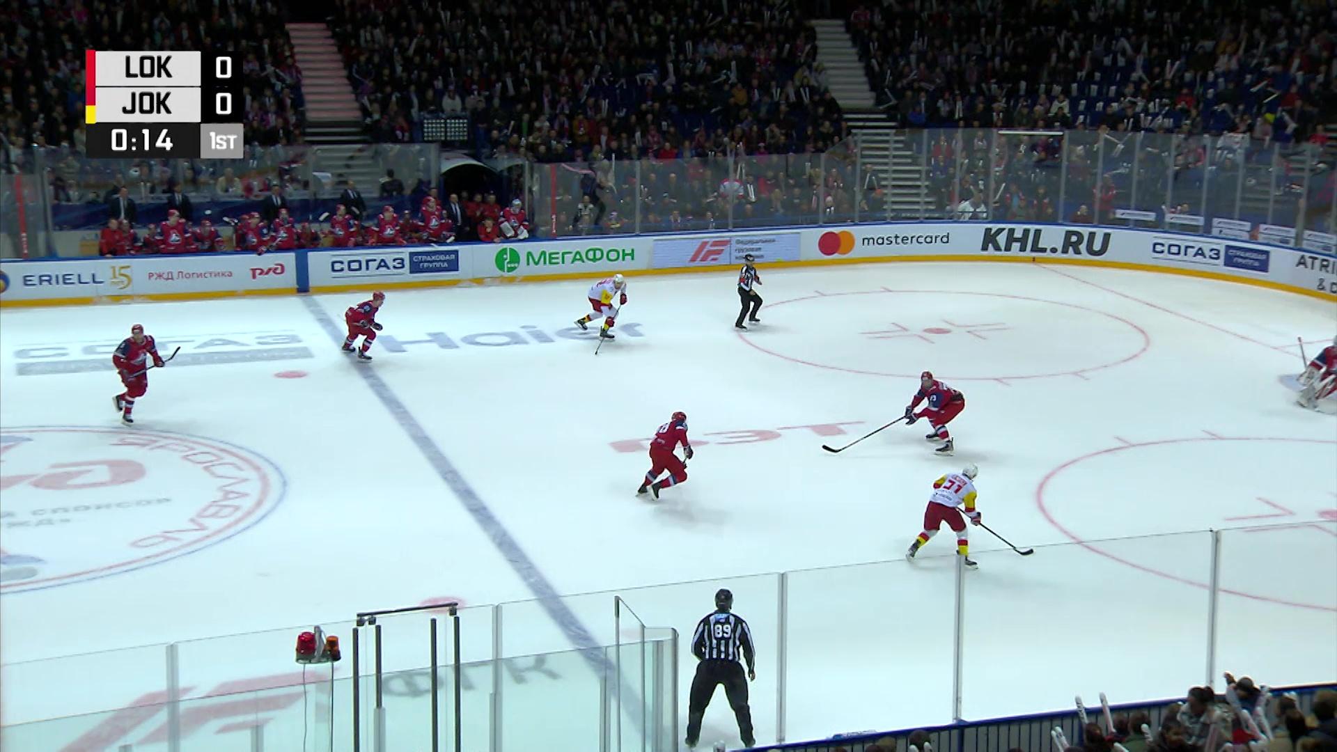 «Локомотив» опустился на 22 позиции в рейтинге лучших хоккейных клубов Европы