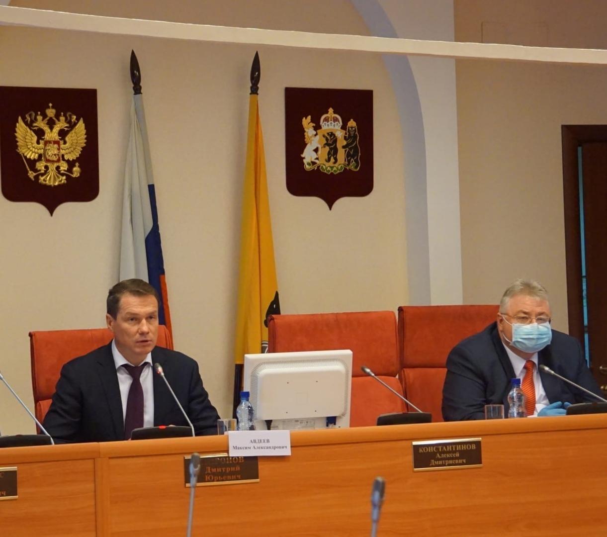 """Максим Авдеев: """"Наша задача - не дать задушить малый бизнес"""""""