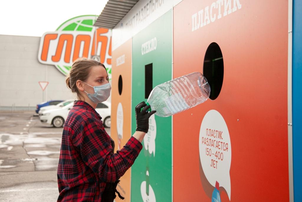 Первый пункт проекта «Принеси пользу своему городу» в Ярославле собрал за месяц 4,5 тонн вторсырья на переработку