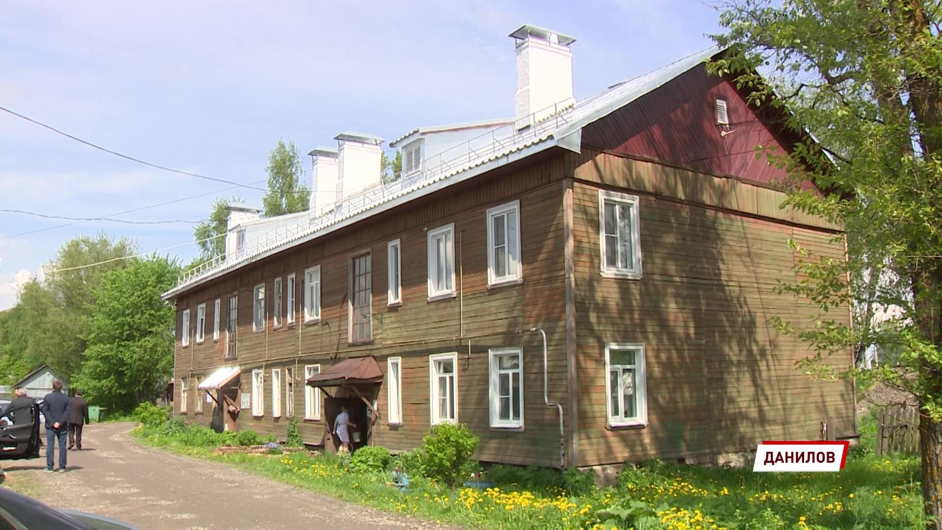 Комиссия проверила ход капремонта домов в Данилове