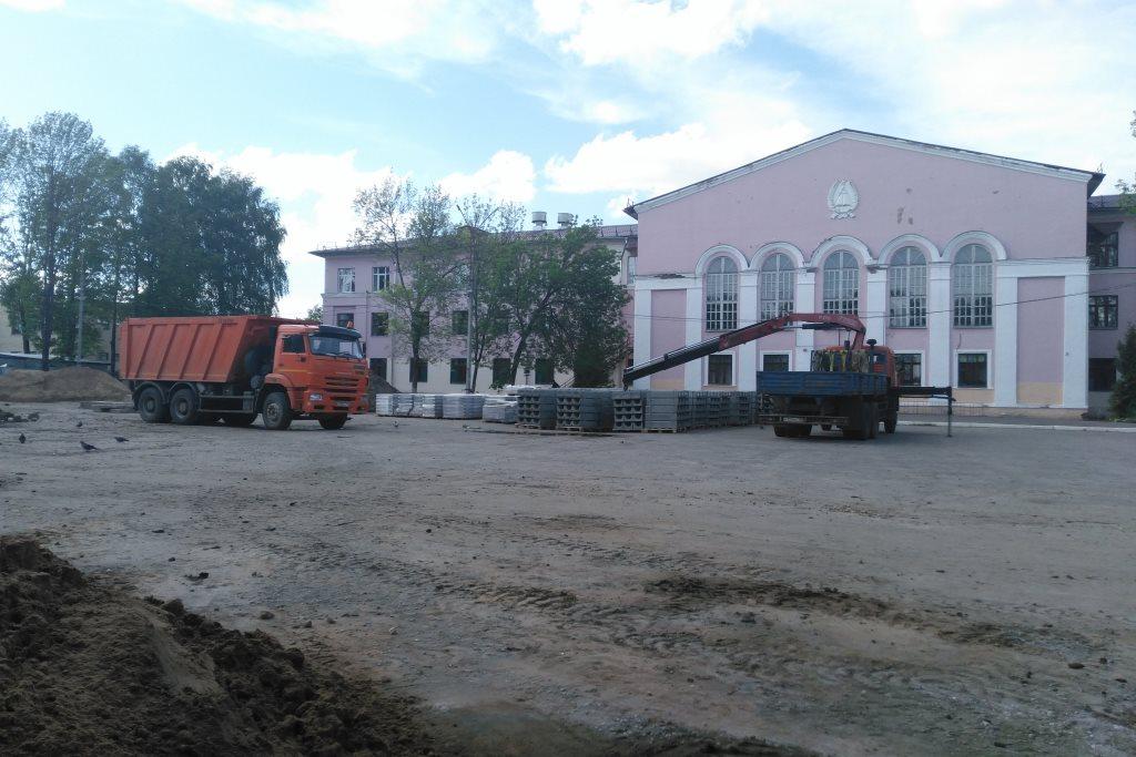 В Данилове благоустроят четыре двора и одно общественное пространство