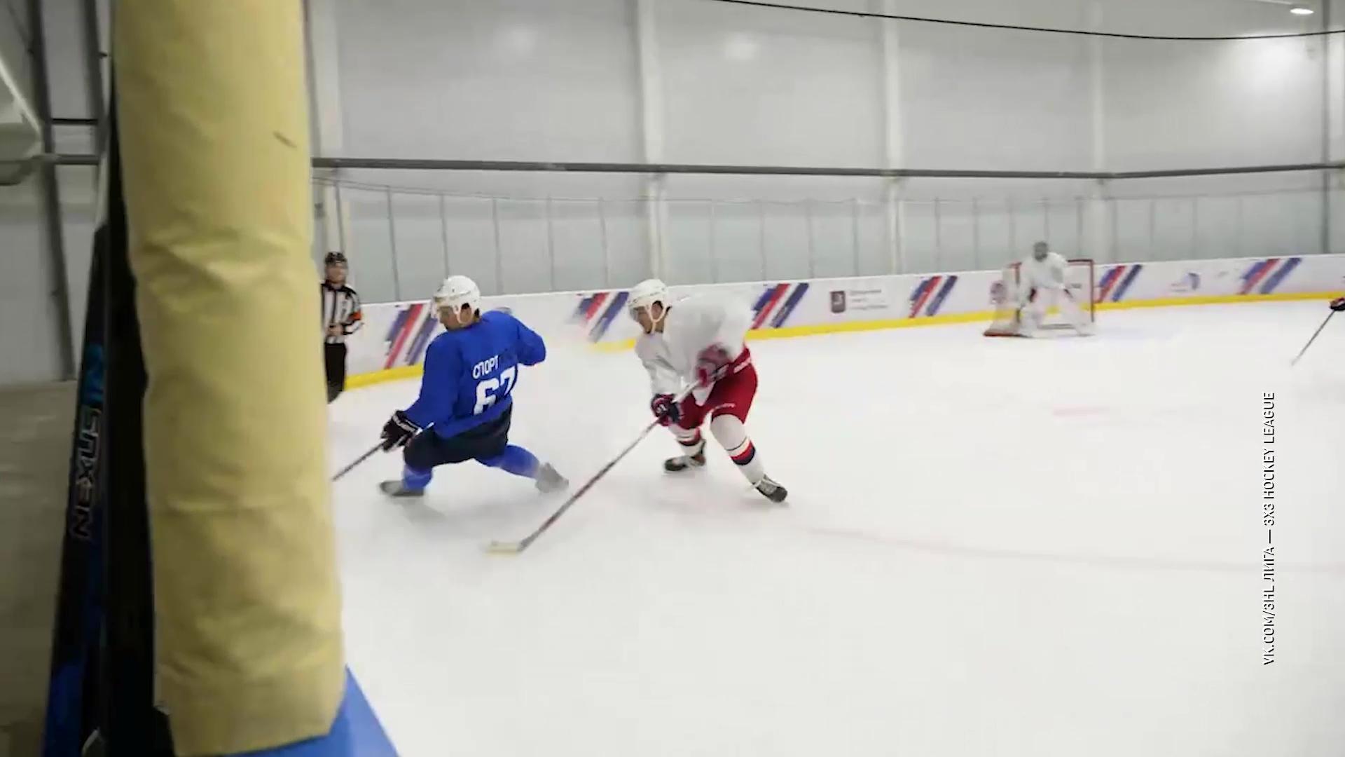 Ярославль готовится к хоккейному турниру лиги «3 на 3»