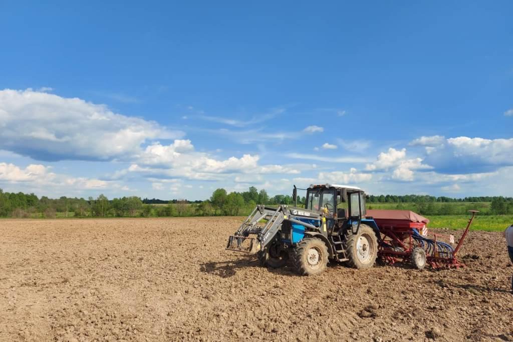 В Первомайском районе реализуют инвестпроект по выращиванию льна