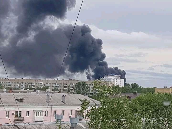Огромный столб дыма поднялся над Ярославлем: в чем причины?