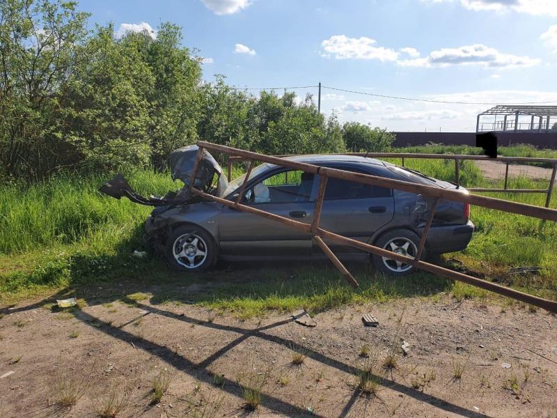 В ДТП в Рыбинске пострадали двое взрослых и подросток