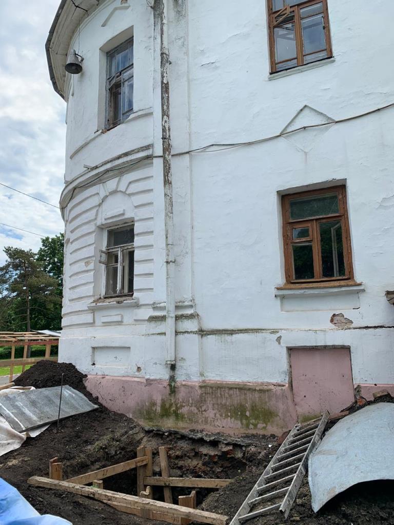 В Ярославле ведутся работы на объекте культурного наследия