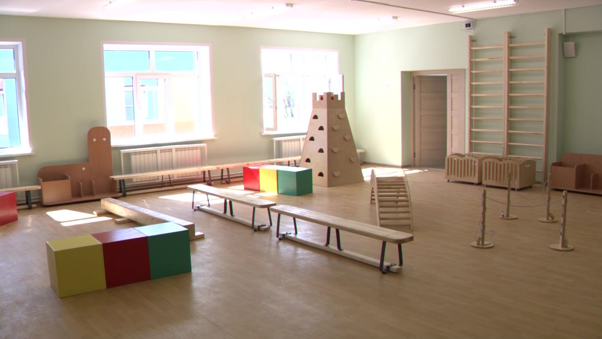В Норском на полтора месяца раньше срока сдали детский сад
