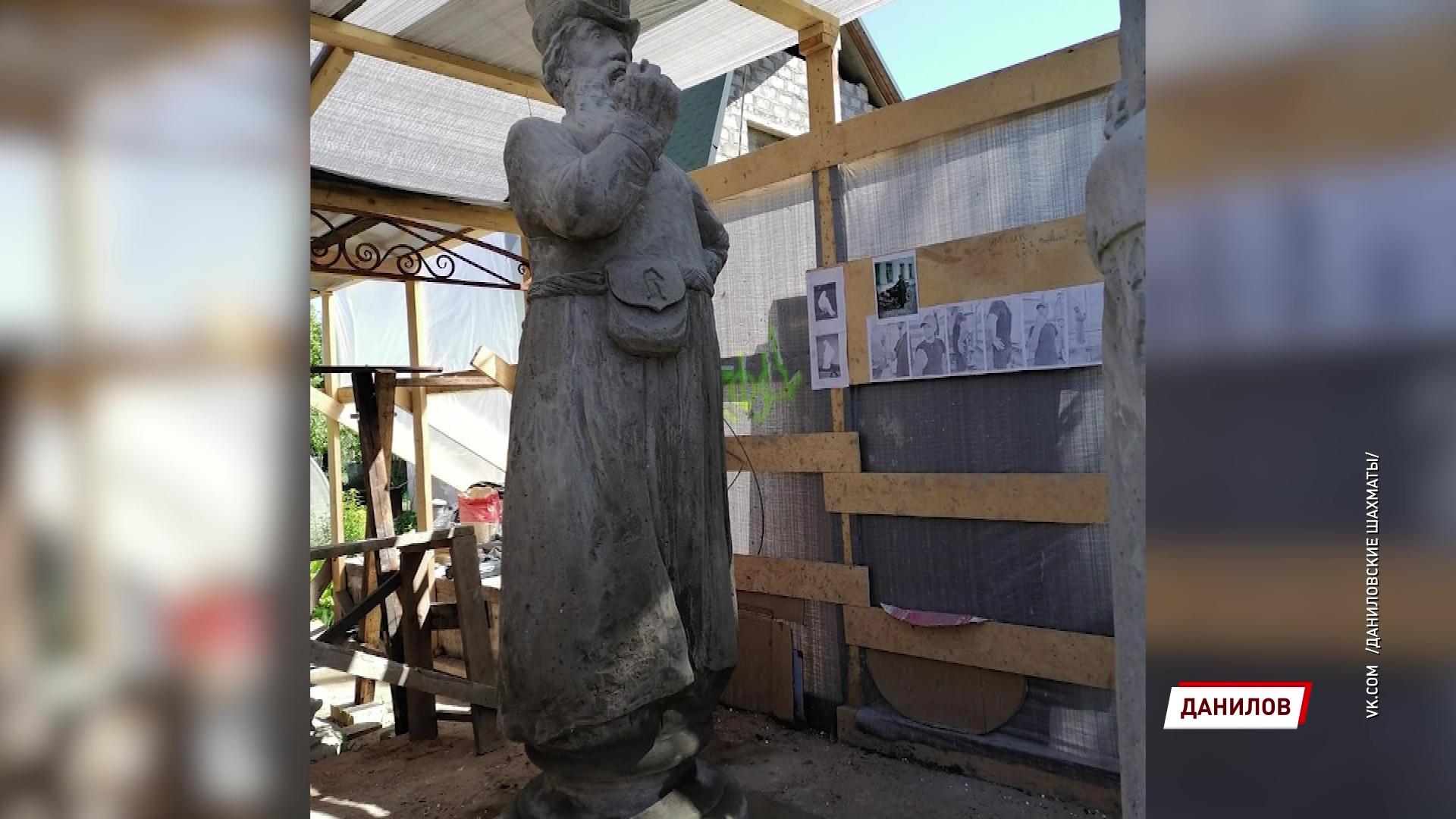 Центральный сквер Данилова украсят скульптуры-шахматы