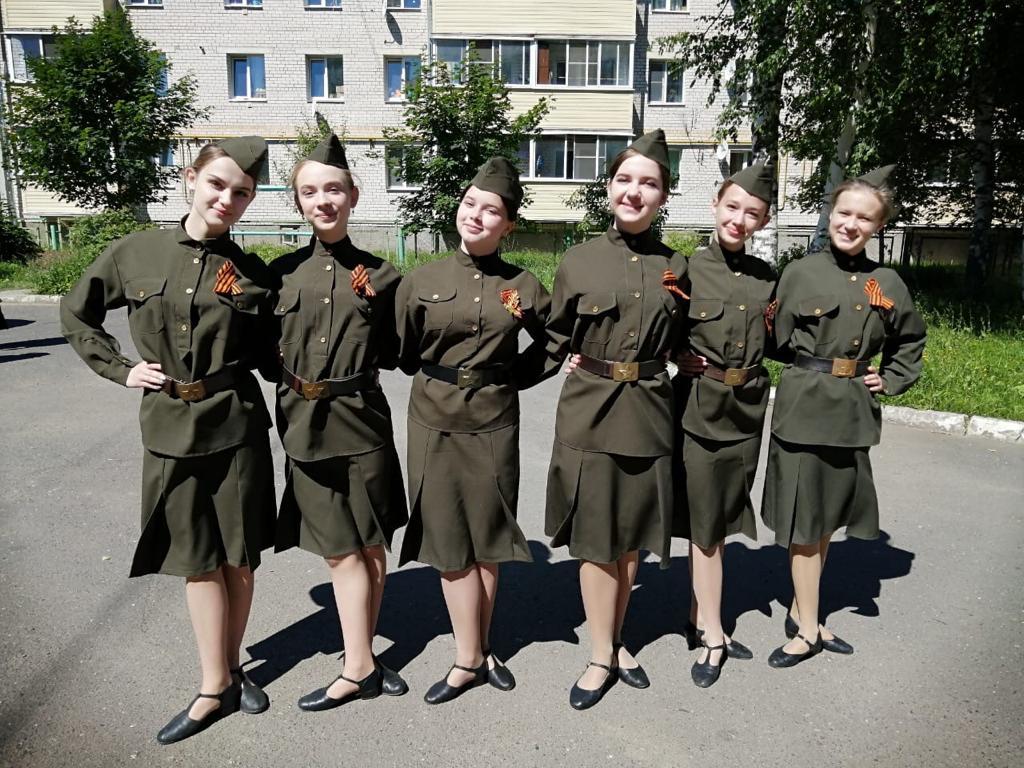 В районах Ярославской области проходят праздничные мероприятия в честь 75-летия Победы