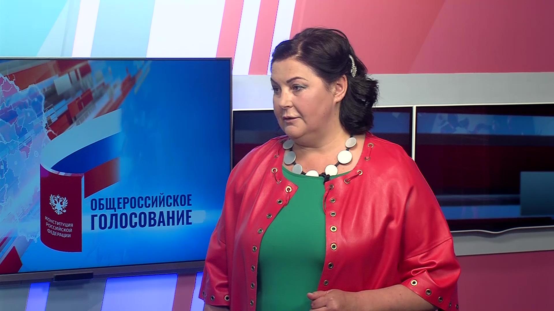 Председатель Совета приемных родителей региона поделилась мнением о поправках в Конституцию