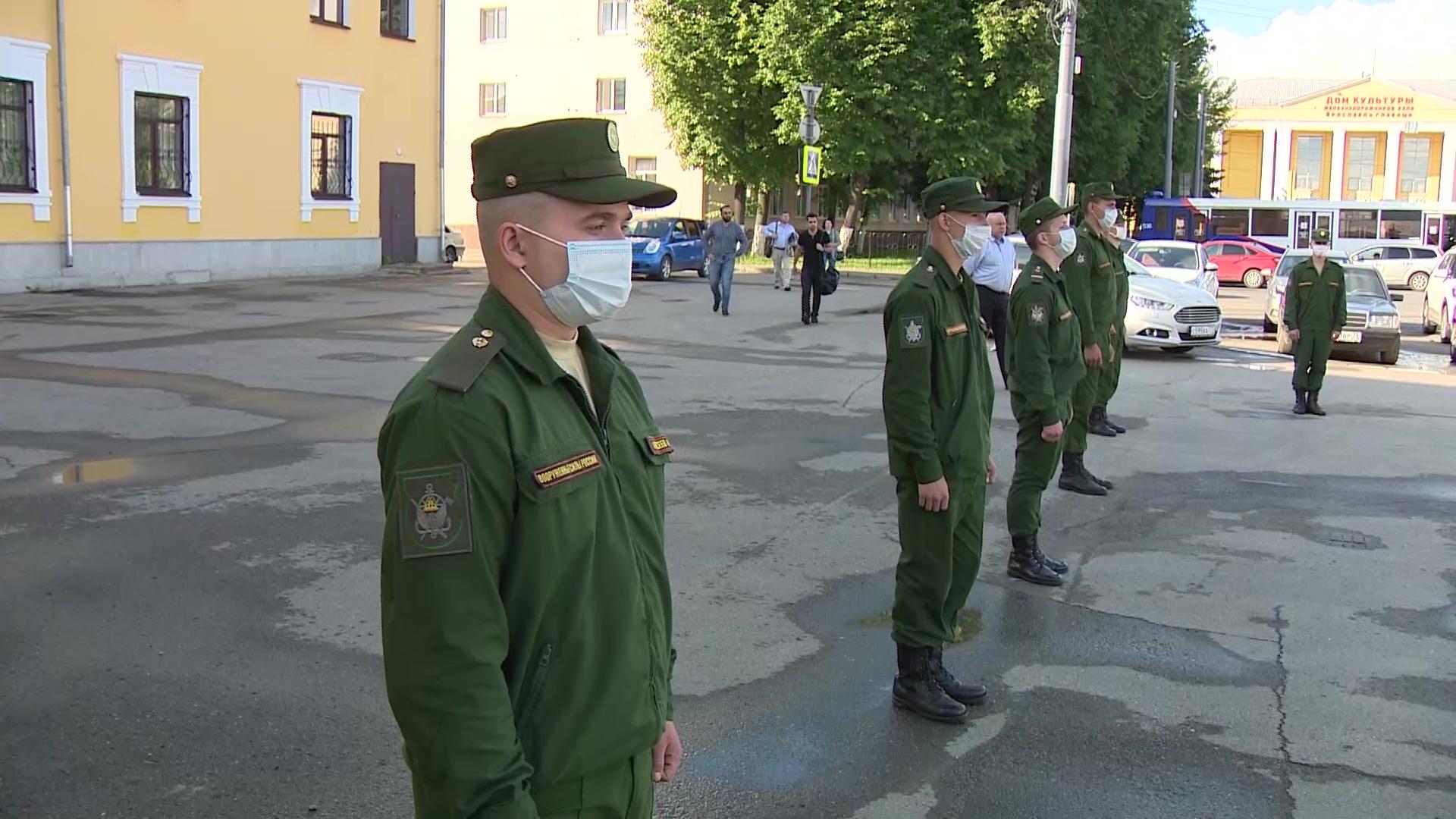 В Ярославль вернулись участники парада Победы