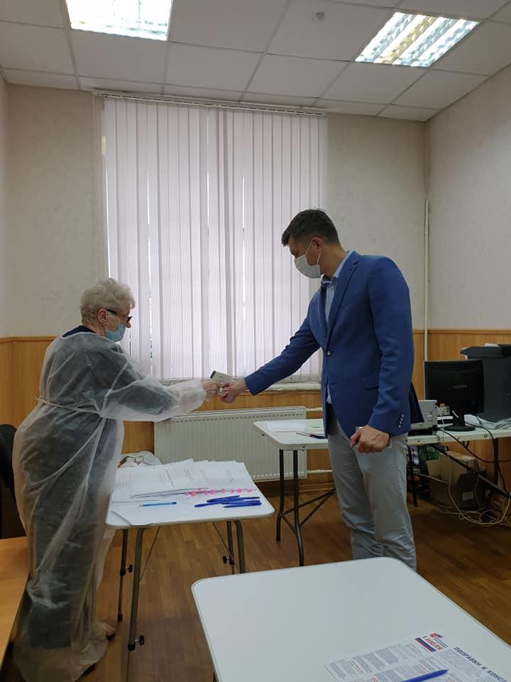 Председатель муниципалитета Ярославля проголосовал по поправкам в Конституции
