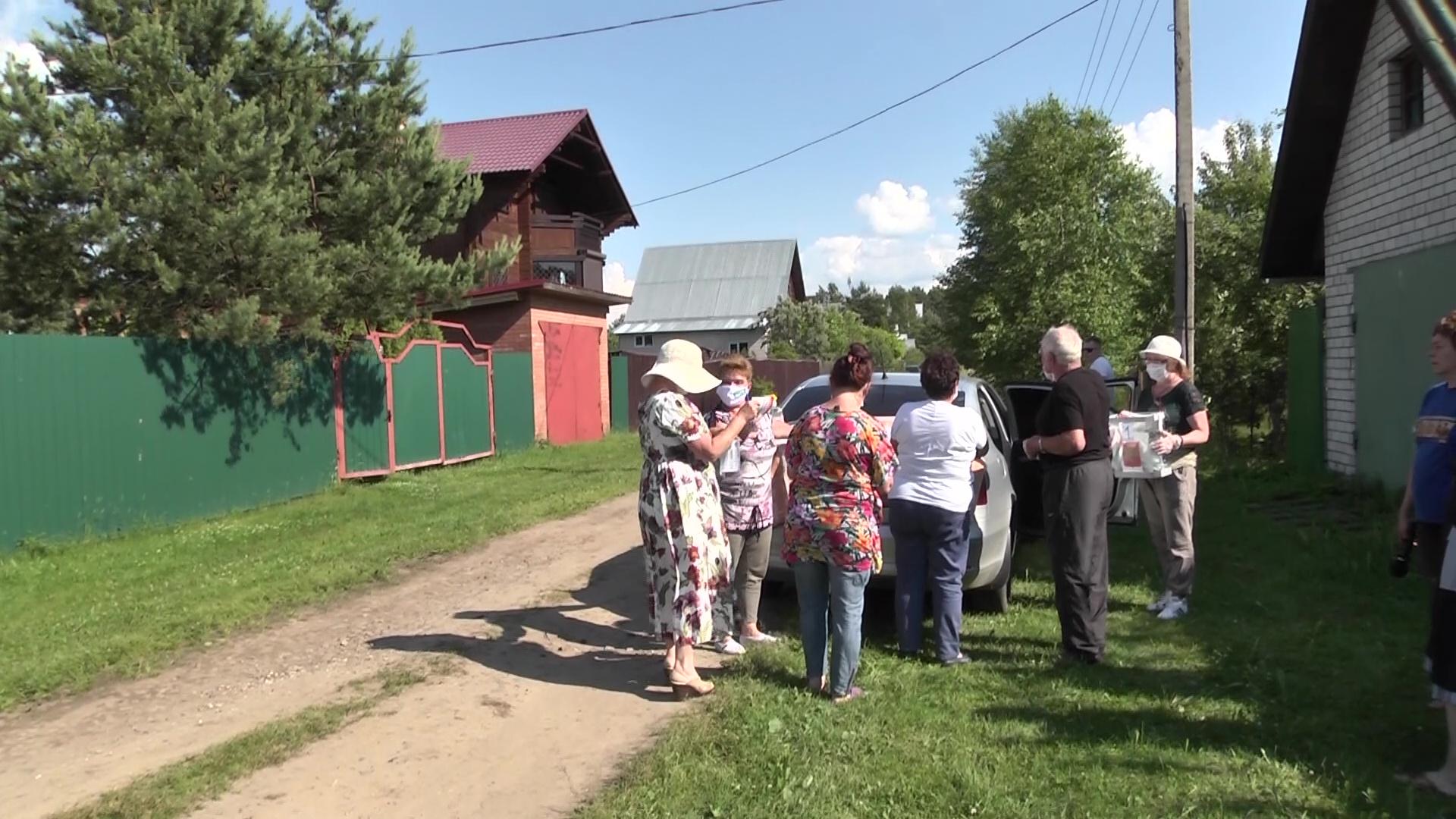 Жители Ярославской области выражают гражданскую позицию прямо рядом со своими домами