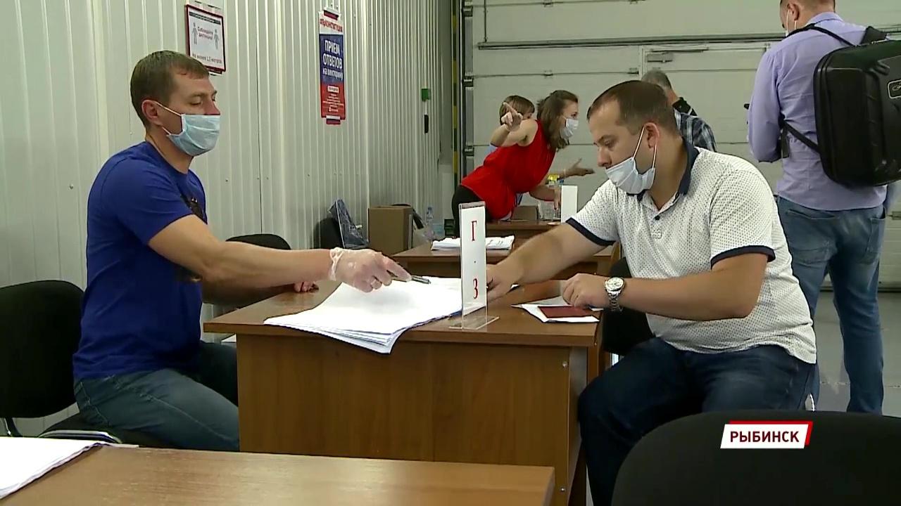 На двигателестроительном предприятии в Рыбинске открылись сразу три избирательных участка