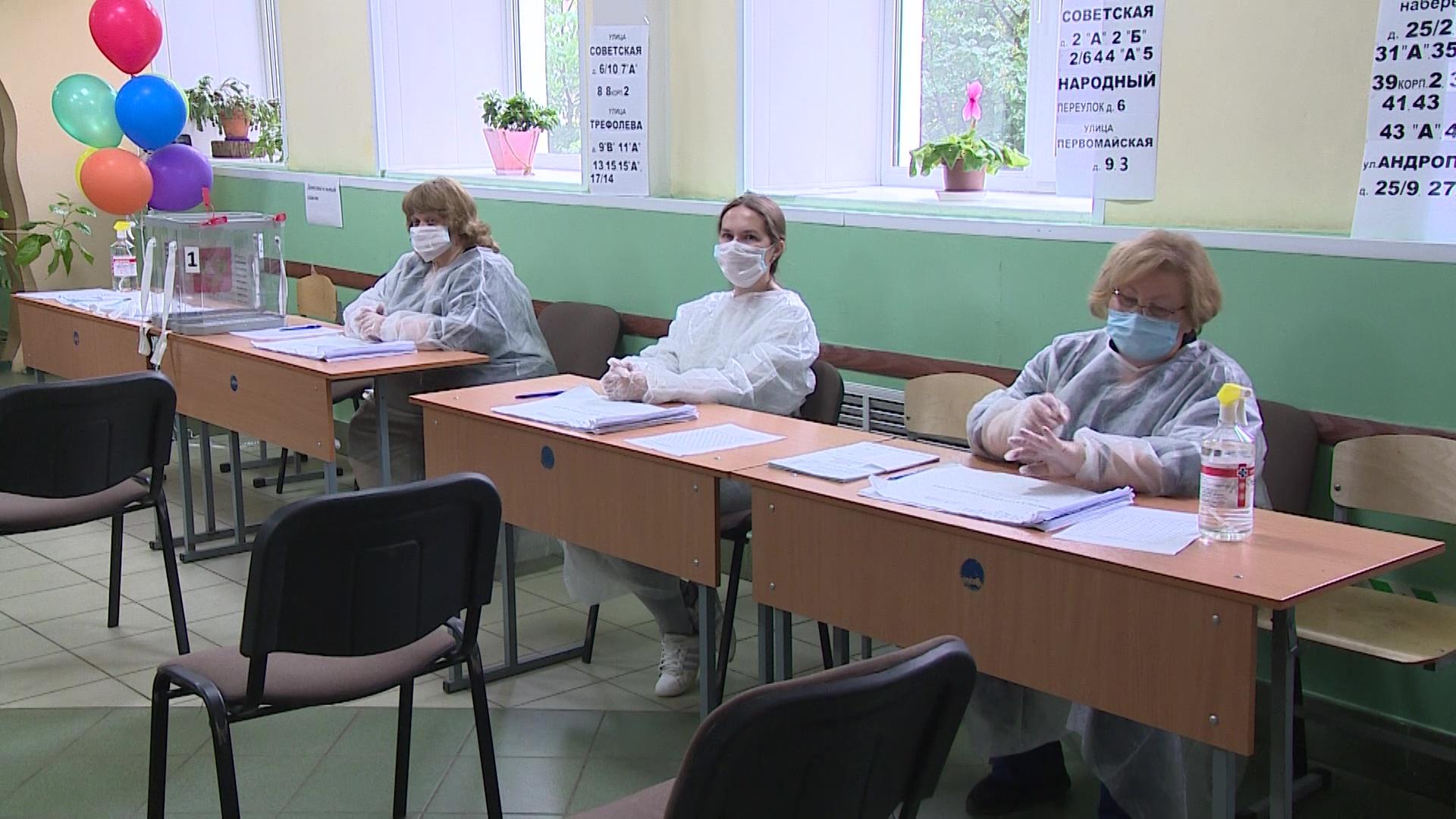 В Ярославской области стартовал основной день голосования по поправкам в Конституции