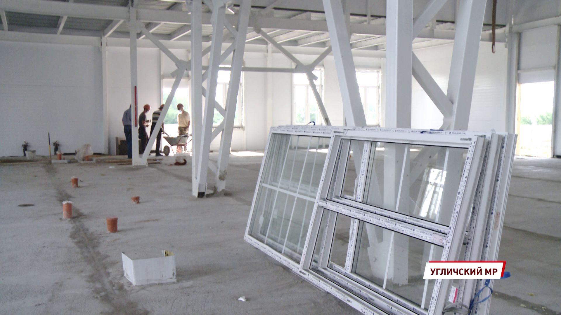В Отрадном завершились основные работы по строительству дома культуры