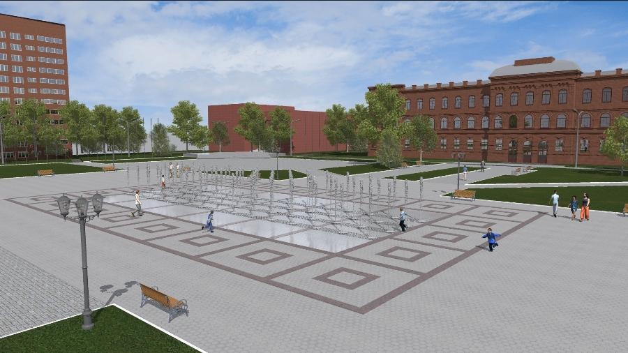 В Рыбинске в рамках проекта «Решаем вместе!» благоустроят площадь Дерунова
