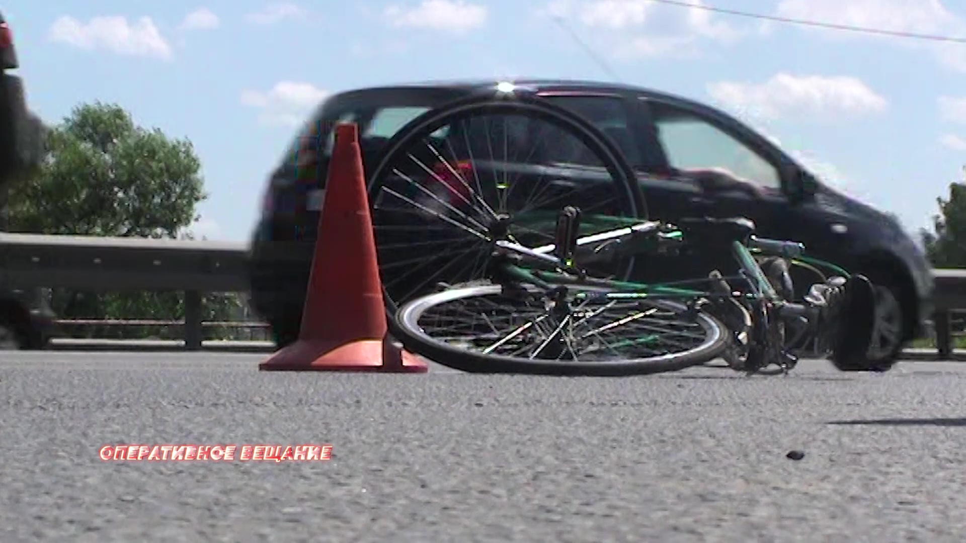 Внезапно перестроился под колеса: на Московском проспекте сбили пенсионера на велосипеде