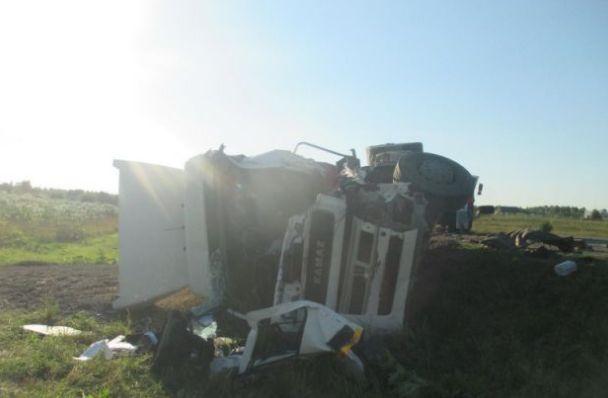 В тройном ДТП грузовиков в Переславском районе пострадал один из водителей