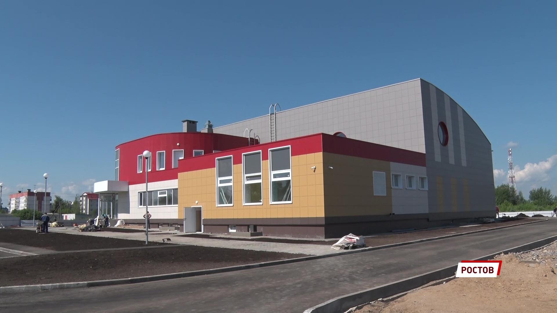 В Ростове скоро достроят первый в городе бассейн