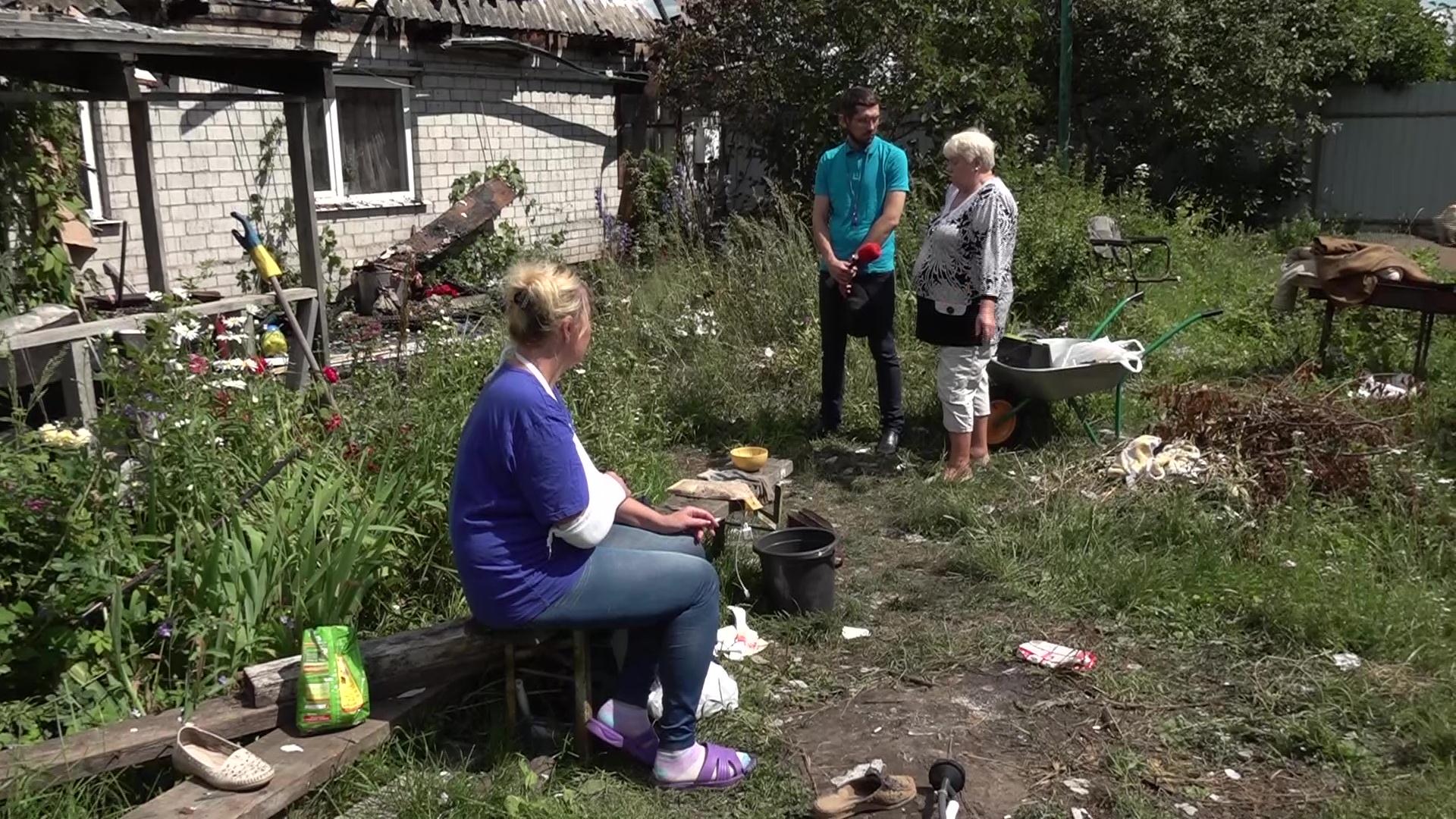 Под Ярославлем пожар оставил без крыши над головой целую семью