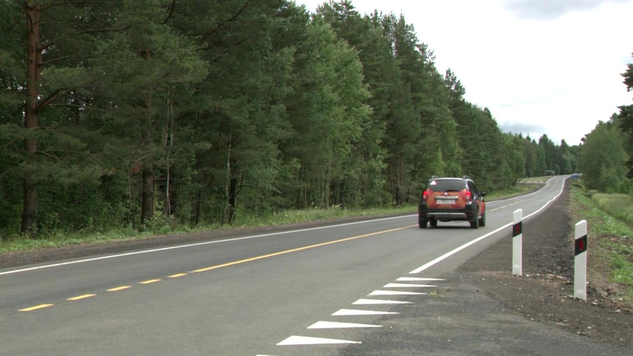 На магистрали, соединяющей Даниловский и Пошехонский районы, отремонтировали два участка