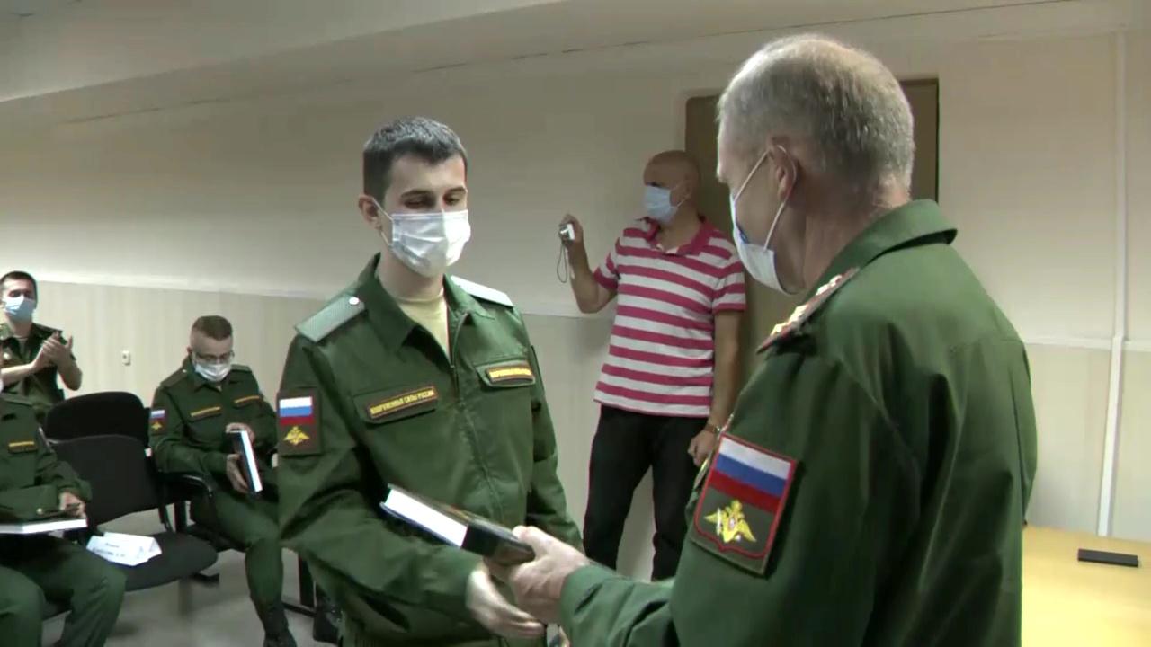 Четверо ярославцев отправились служить в научные роты Минобороны