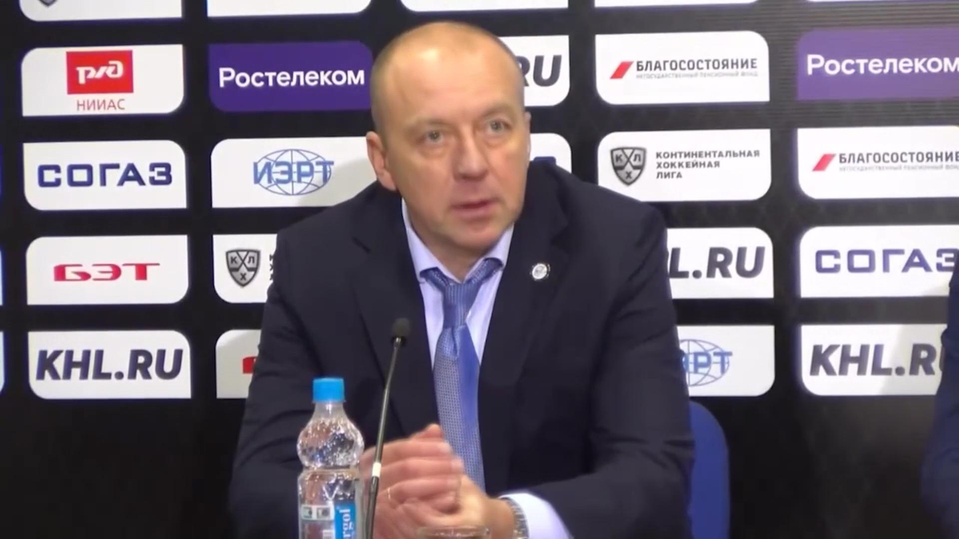 Андрей Скабелка признан лучшим хоккейным тренером Белоруссии