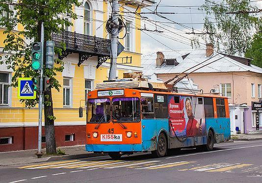 В Рыбинске расторгают контракт с перевозчиком троллейбусов №5