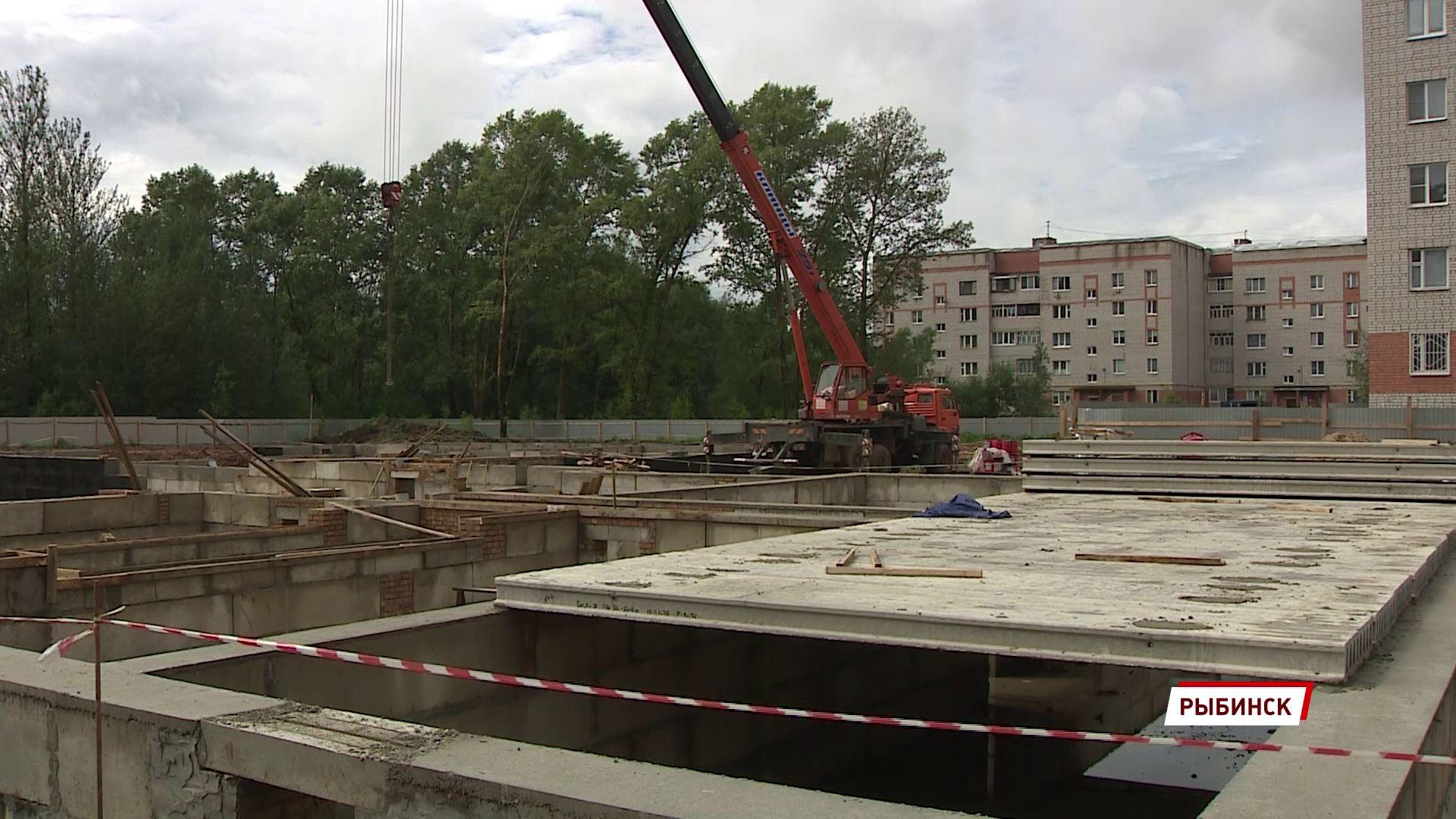 В Рыбинске строят два новых детских сада