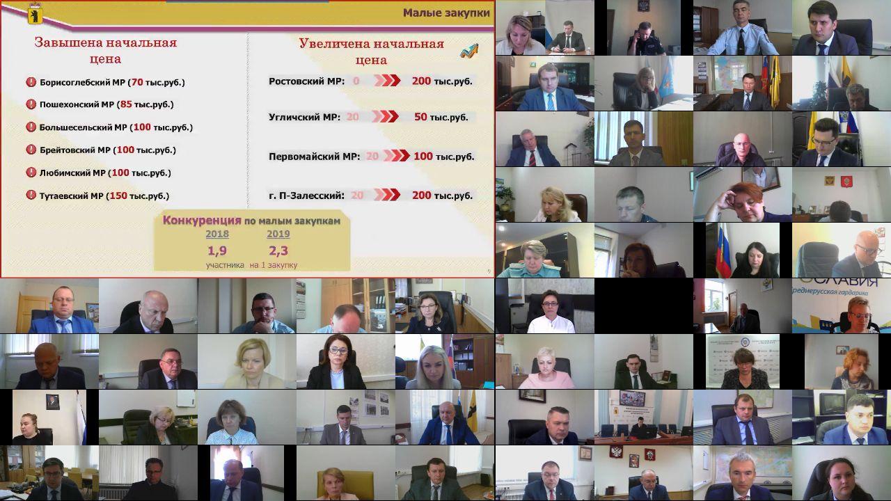 Заседание Правительства Ярославской области от 22.07.2020