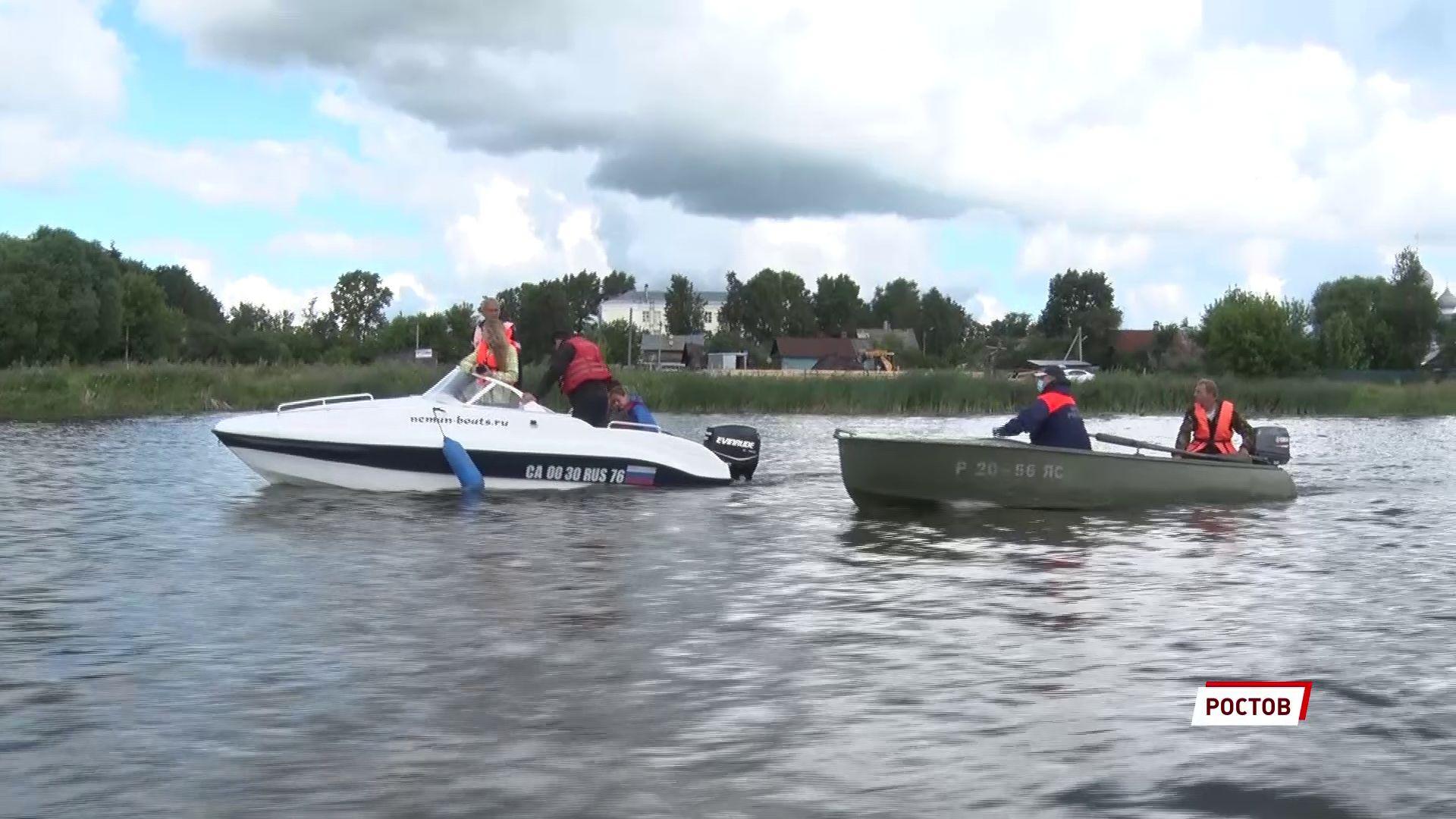 Рейды по воде продолжаются: в Ростове бороздили Неро