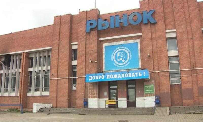 После крупного пожара Дзержинский рынок готовится к открытию