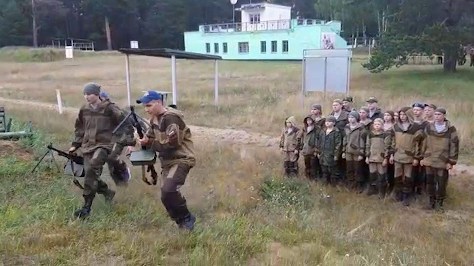 Ярославские школьники смогли почувствовать себя солдатами ВДВ