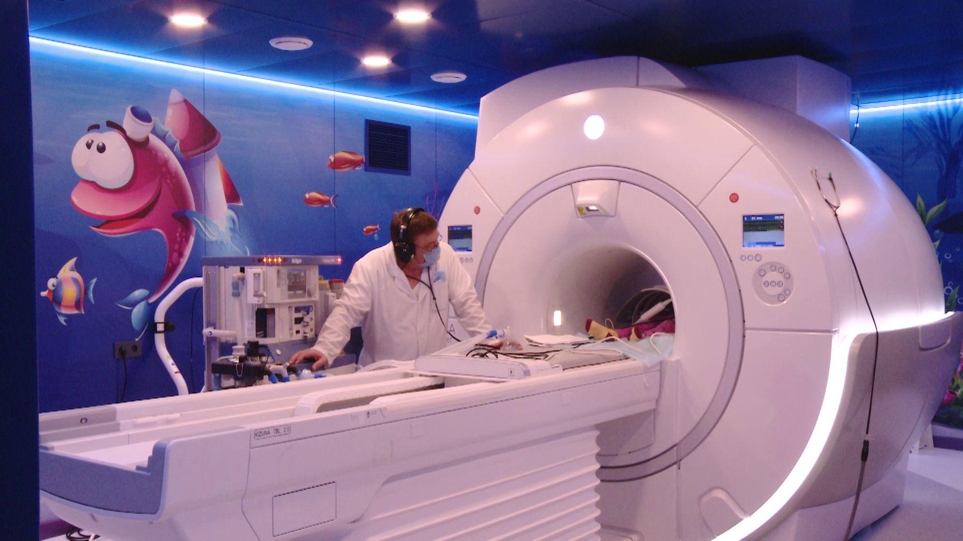 В Детской областной больнице Ярославля делают МРТ с помощью наркоза