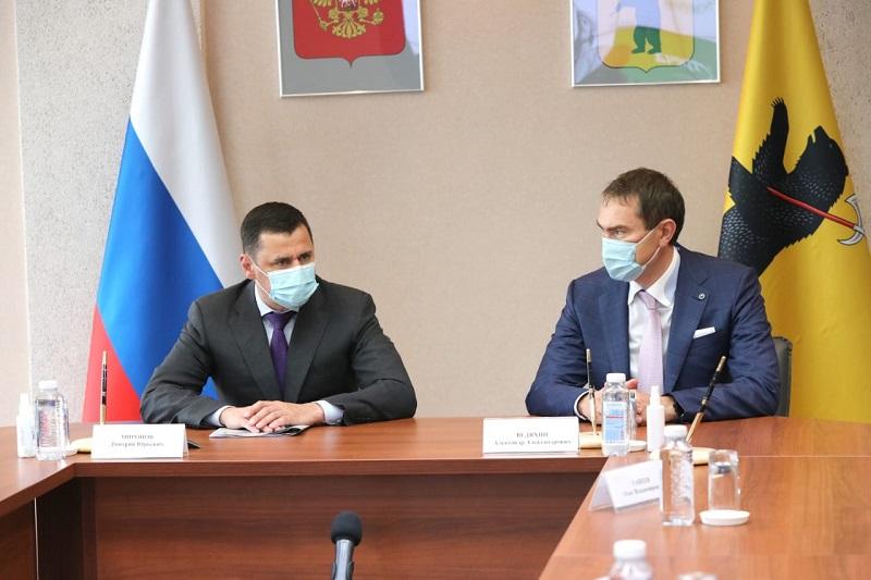 Дмитрий Миронов подписал соглашение о внедрении в школах региона инновационных образовательных технологий