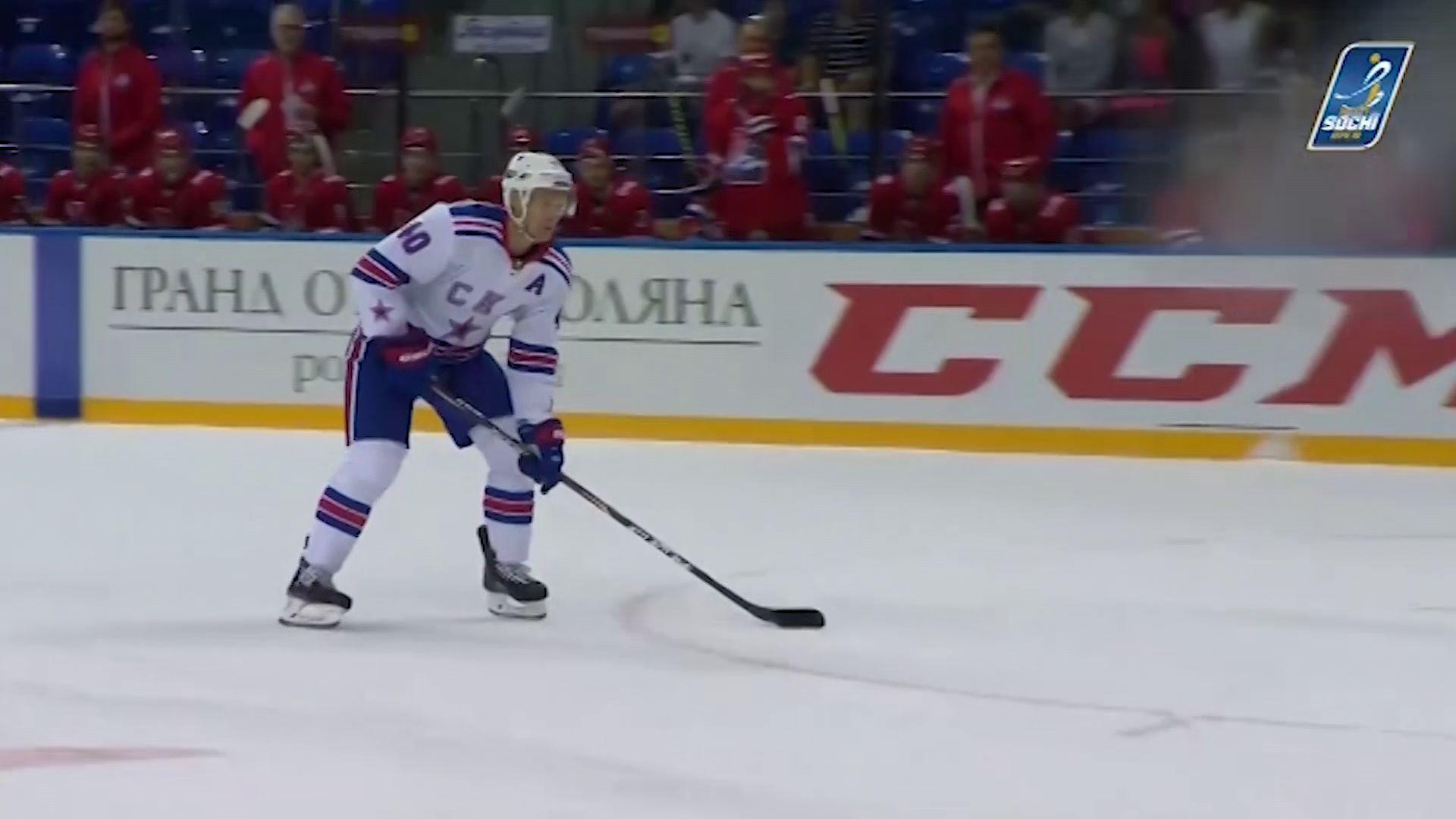 Соперник «Локомотива» на турнире Sochi Hockey Open – СКА продолжает готовиться к сезону
