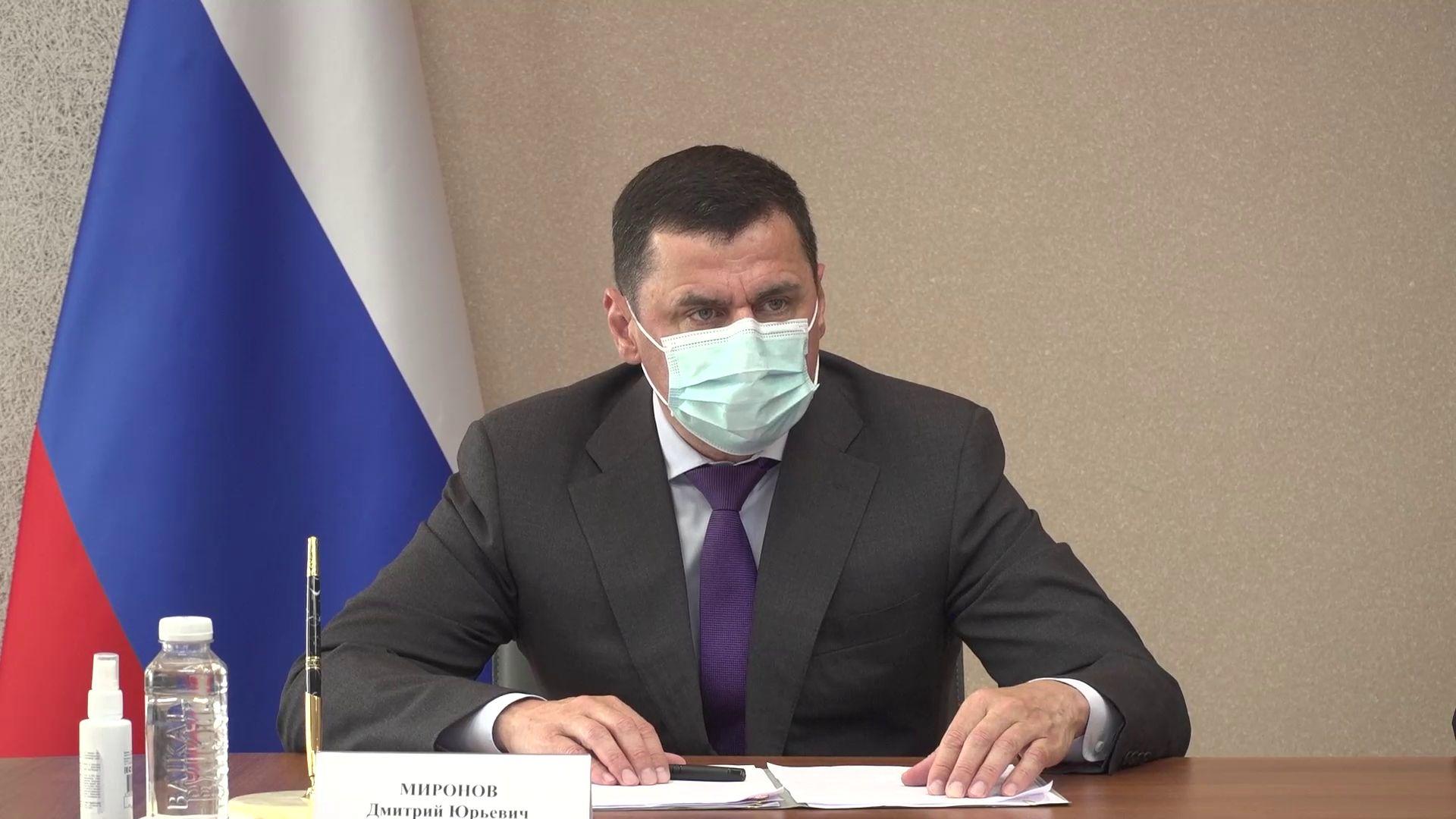 Дмитрий Миронов подписал соглашение о введении оборудования для образовательной цифровой платформы