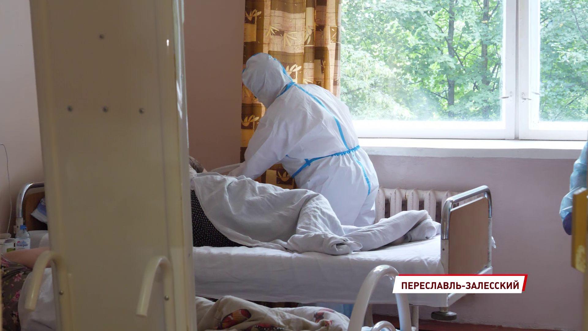 Ярославские студенты–медики продолжают работать с больными коронавирусом