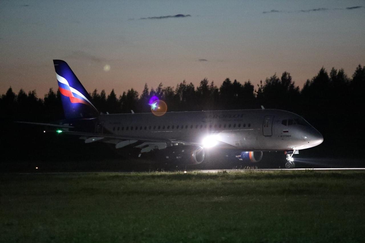 Из Шереметьево в Туношну прибыл первый рейс