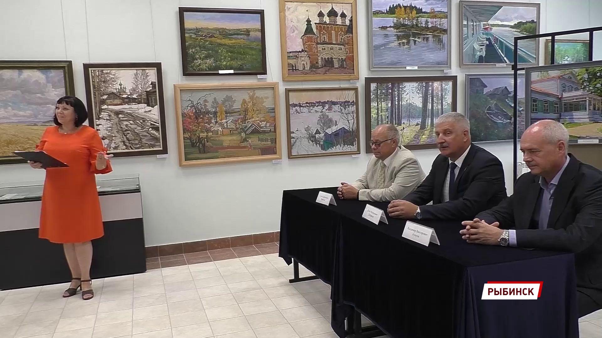 В Рыбинске состоялась торжественная процедура гашения почтовой марки, посвященной̆ адмиралу Федору Ушакову