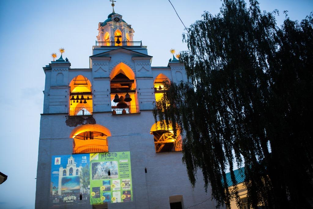 В музее-заповеднике организовали кинотеатр на свежем воздухе