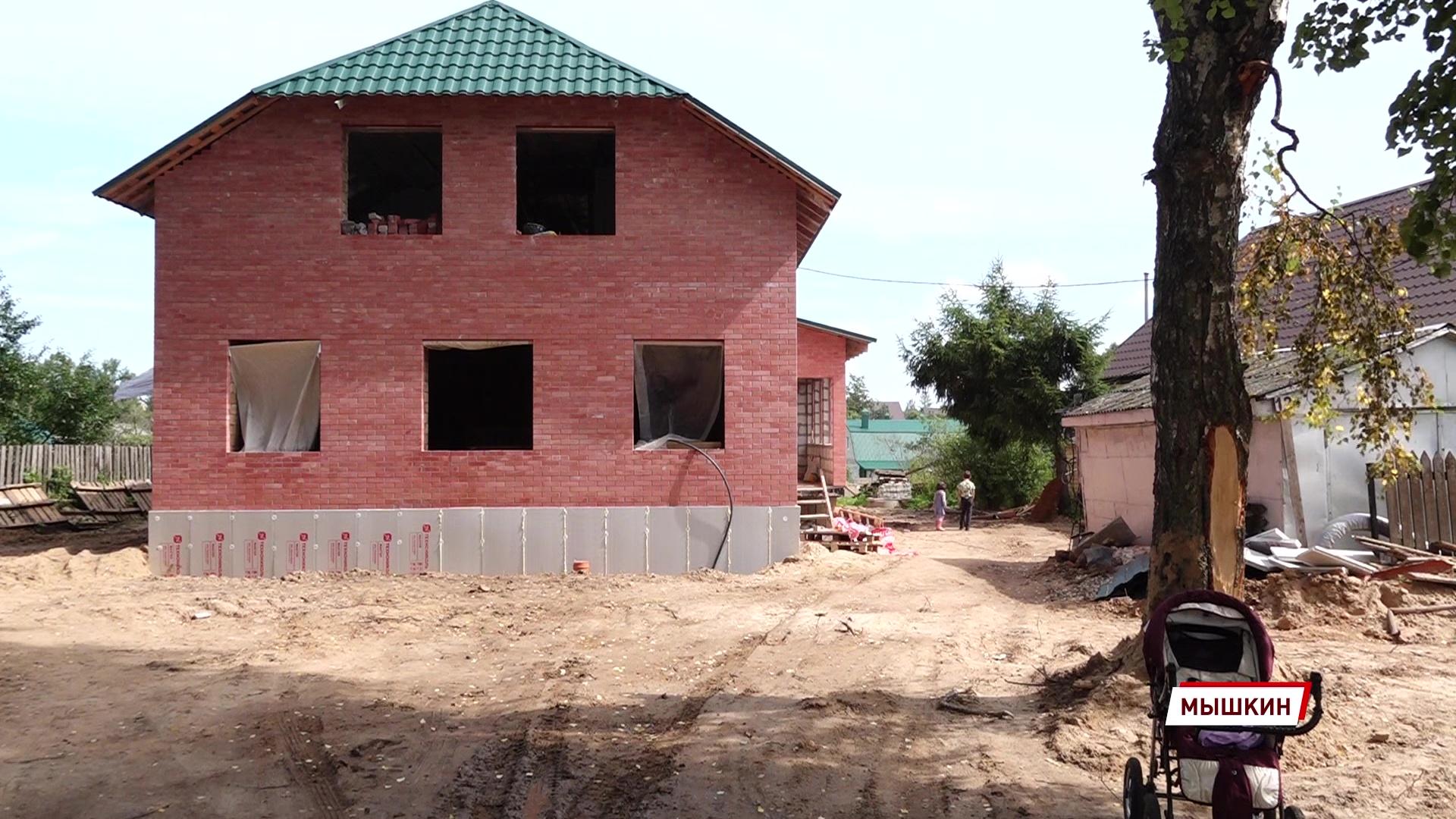 Мечты сбываются: многодетная семья из Мышкина начала строительство долгожданного дома