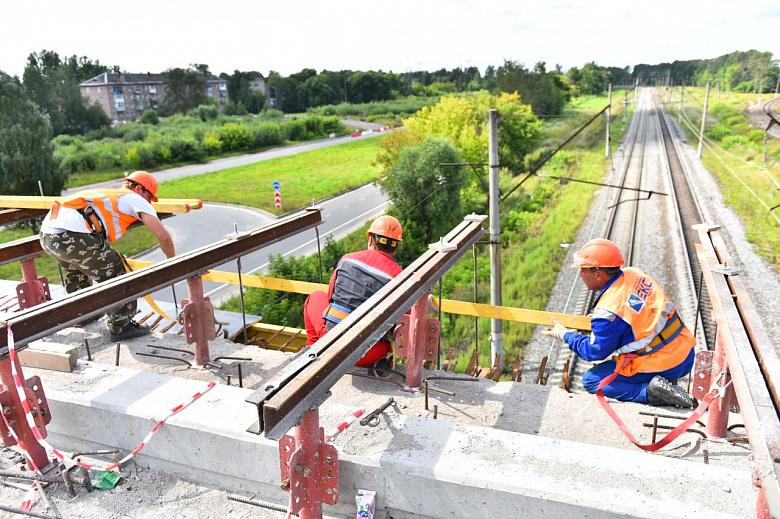 Работы на Добрынинском путепроводе завершены на 70 процентов